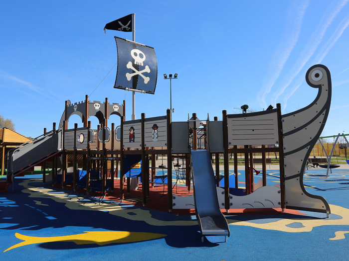 Pirate Themed Inclusive Play Unit