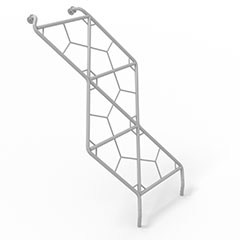 ladder for plaground multiplay units